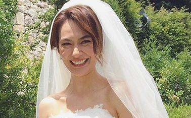 「登場から感動」AVIの幸せ結婚式